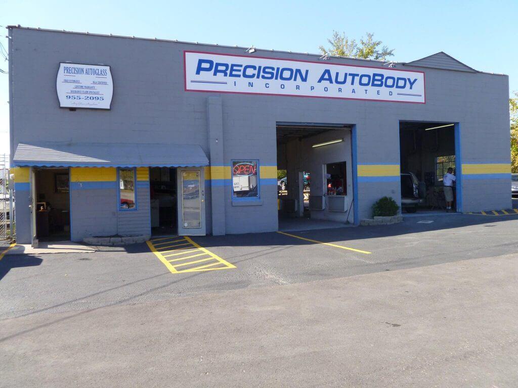 Precision Auto Body Shop Exterior