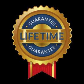 Lifetime Guarantee Ribbon